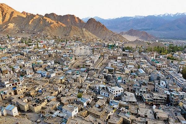 ladakh will be able to bear the burden pace of development