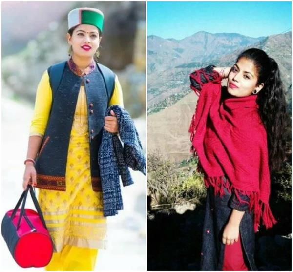 the folk song pink plazo of himachal daughter