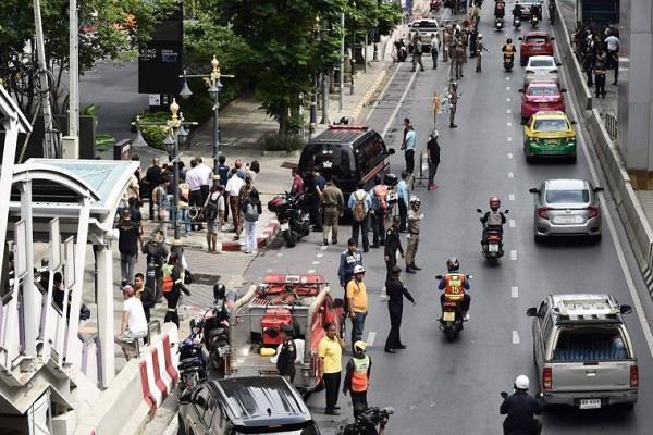 bombs rattle bangkok during asean summit