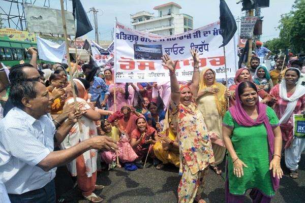 ravidasiya society movement became fierce