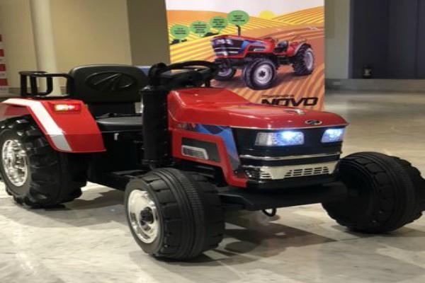 mahindra will bring smallest tractor novo