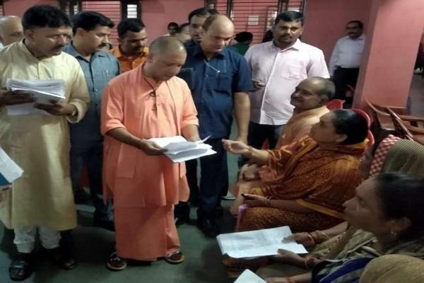 cm yogi imposed janta darbar