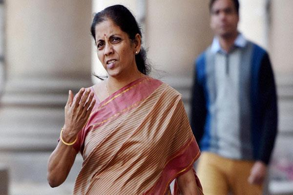 finance minister journalists and sitharaman were angry at the