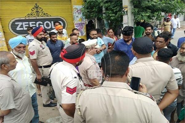 ravidas brotherhood protest in jalandhar