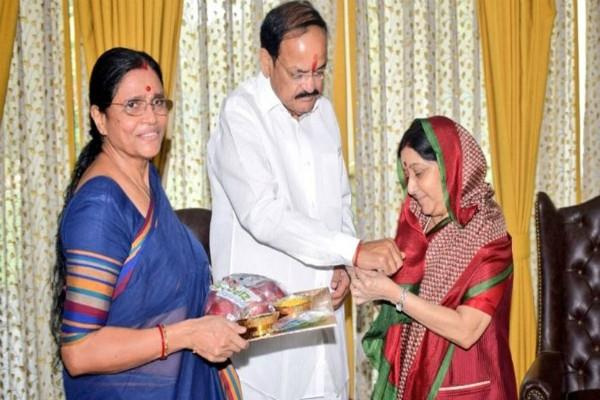 tribute to sushma swaraj in rajya sabha