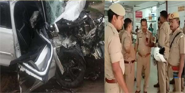 two policemen killed in road accident in sultanpur