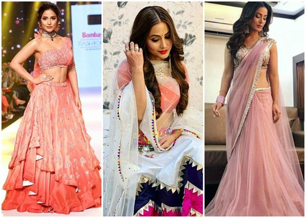 हिना खान की 10 बेस्ट ट्रेडिशनल ड्रेसज,देखिए पिक्स