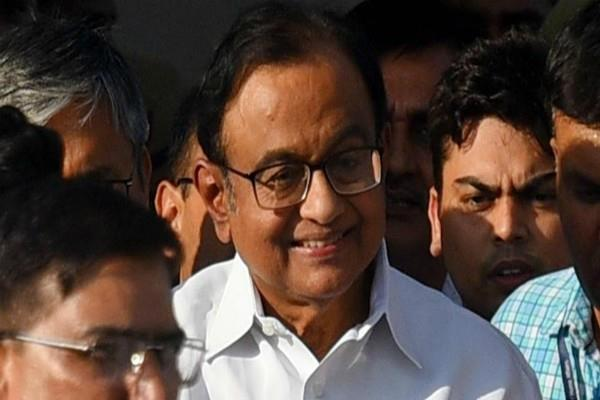 p chidambaram is not living in jail like a common prisoner