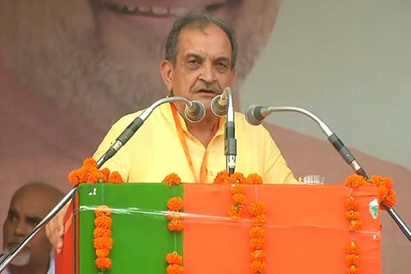 in astha rally jind haryana chaudhary birender singh said shah is steelman