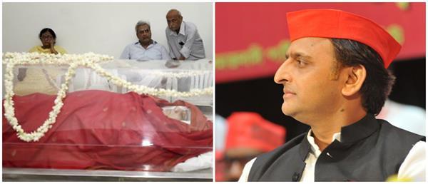 akhilesh expressed grief on the demise of sushma swaraj