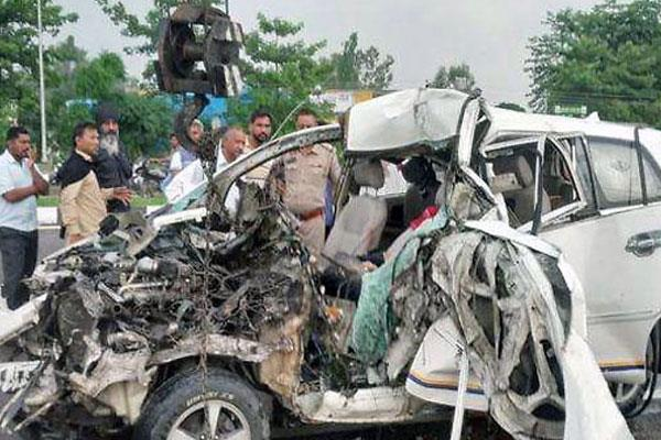 one killed in an accident at kartarpur