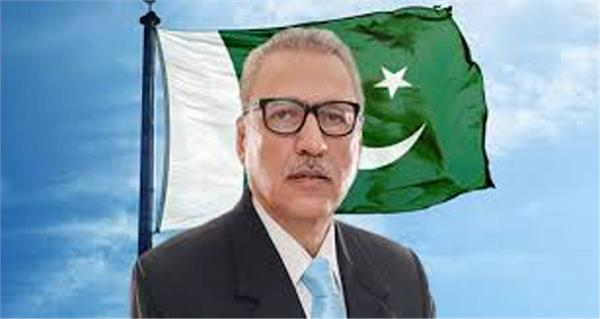pakistan president alvi says  kashmiris and pakistanis are one