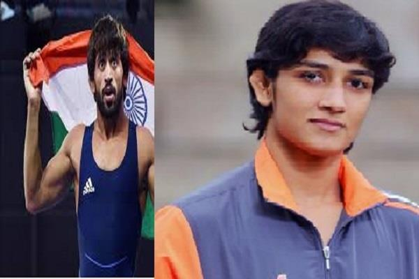 wrestler bajrang punia to become phogat family s son in law after tokyo olympics