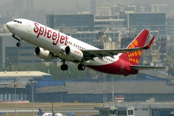 spicejet flight delayed