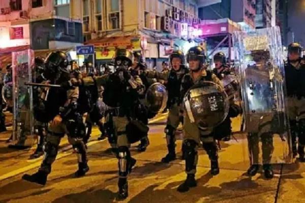 hongkong dispute china army parade media news international