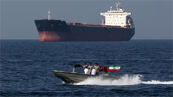 iran seizes foreign oil tanker in gulf