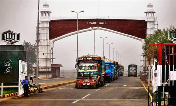 pakistan rejects possibility of trade with india through wagah border