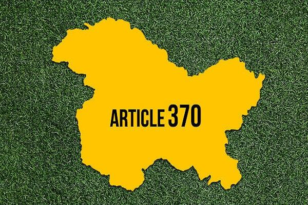 article 370 and 35 a revoked
