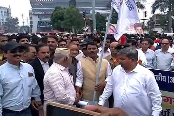 youth group on the streets against adulteration in indore