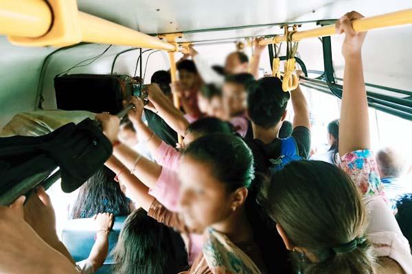 overloading in bus