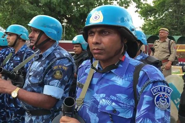 amu security further tightened
