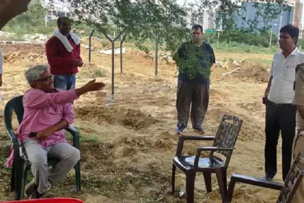 fir registered against former dgp jagmohan yadav for land grab