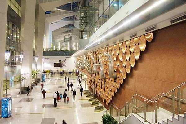 delhi airport ready for 10 million passengers