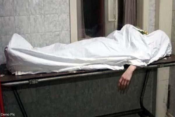 deadbody of migrant worker