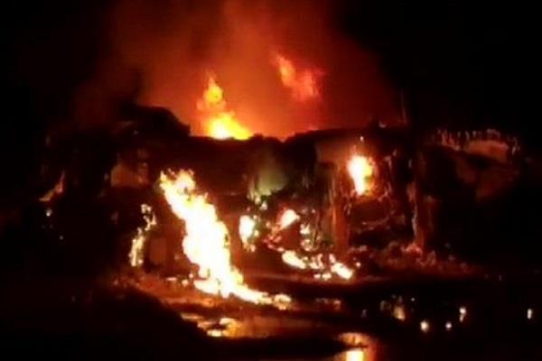 explosion in oil tanker in tanzania 57 dead