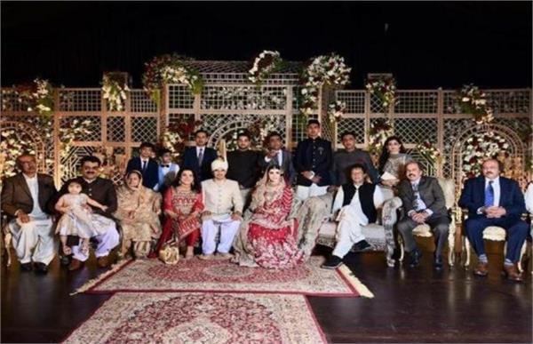imran khan organises wedding at official residence
