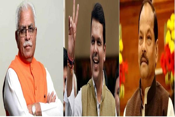 bjp likely to contest elections under its current chief ministers in three state