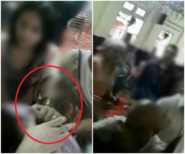 priest and family assault in ram temple of annadale
