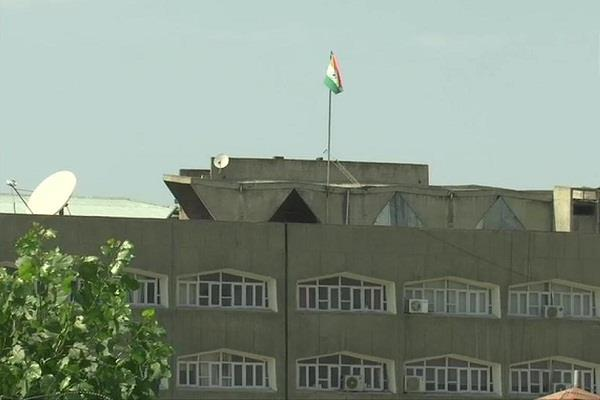 history of jammu and kashmir made after 370 tricolor waved at secretariat