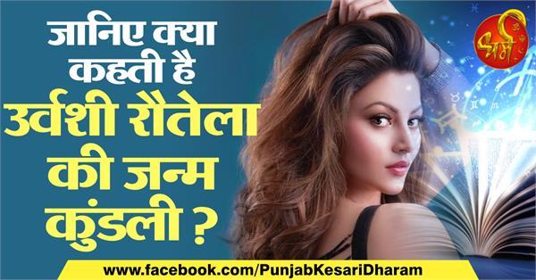 urvashi rautela horoscope