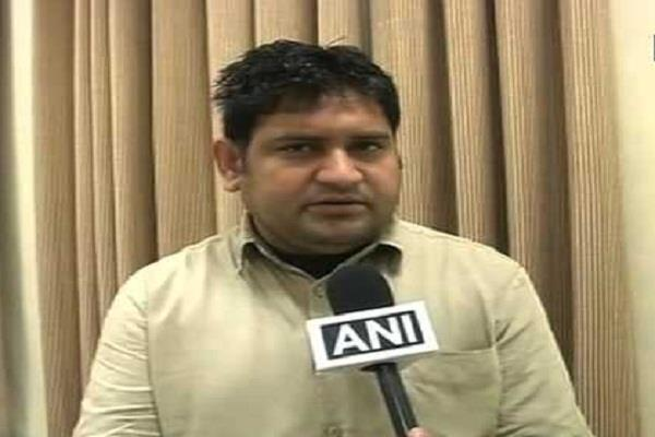 delhi legislative speaker disqualified aap mla sandeep kumar