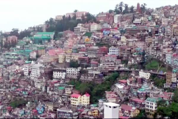 unsafe building in shimla