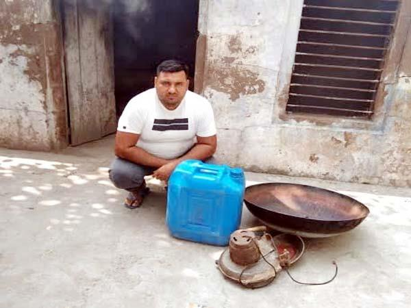 one arrested with liquor and furnace