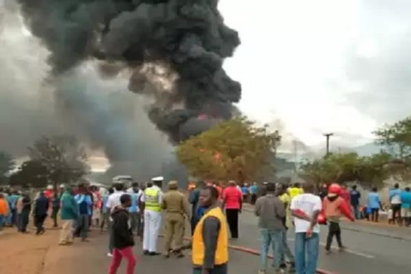 tanzania blast oil tanker 62 dead international news daresalam