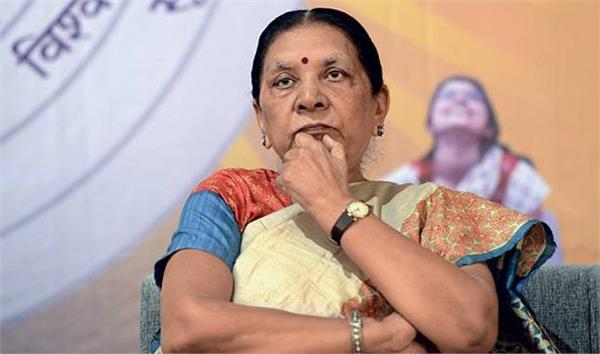 anandiben says sushma swaraj s term as foreign minister