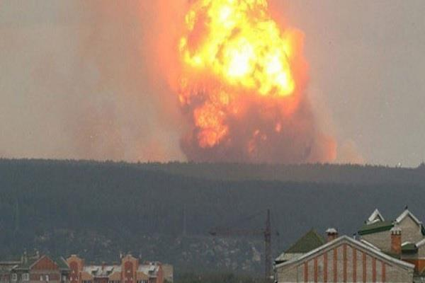russia moscow military base explosion 2 dead 7 injured news world global