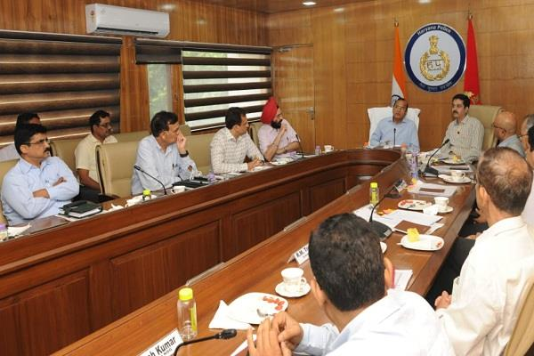 rs 19 crore 13 lakh allocated for modernization to haryana police force