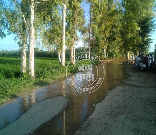 another dam broken in lohian khas village