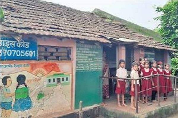 open claims poll school and anganwadi children same room forced read