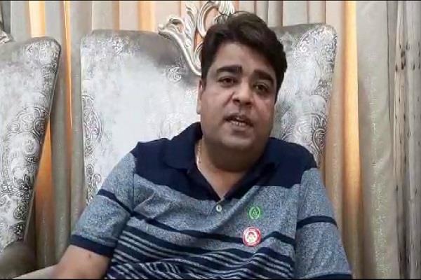 mla aseem goyal targets ghulam nabi azad reacts strongly