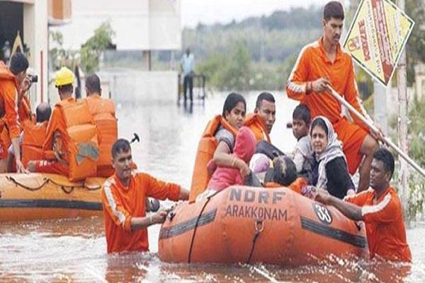 ndrf rescues 10 000 people trapped in flood