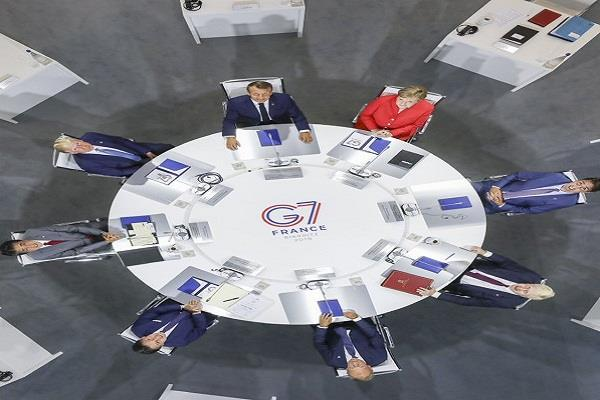 india is not a member of g7 yet got entry