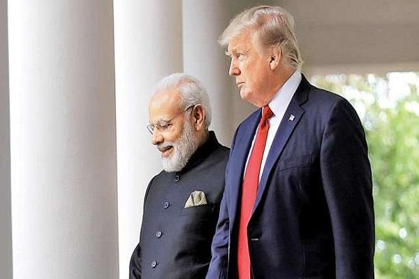 pm modi spoke to trump ban cross border terrorism for regional peace