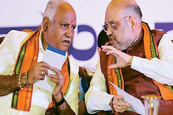 yeddyurappa will finalize cabinet expansion will discuss with amit shah