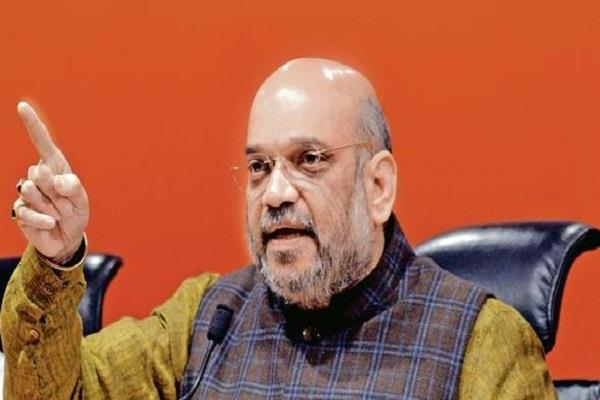 home minister amit shah will review the ongoing campaigns against naxalites