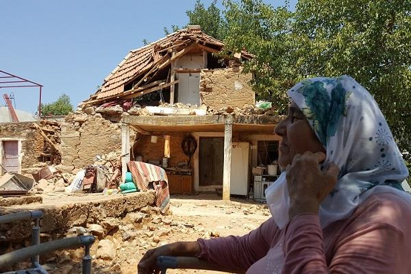 tremors of tremendous earthquake in south western turkey